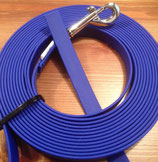 Schleppleine Beta Biothane 16mm/3m - blau