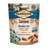 Carnilove Crunchy Snack Lachs mit Blaubeere 200g
