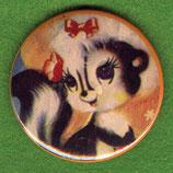Stinktiermädchen - Button