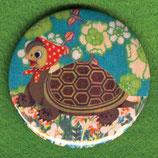 Schildkröte - Button