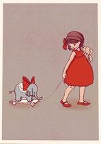Elephant - Belle & Boo Postkarte