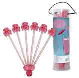Pink Pudel - Cocktail Rührstäbchen