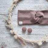 Aktion Ohrstecker Rosa- das passende Haarband gibts bei Lulupswerkstatt