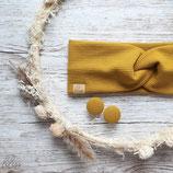 Aktion Ohrstecker Gelb- das passende Haarband gibts bei Lulupswerkstatt