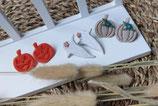 Ohrstecker aus Modelliermasse Herbst 2
