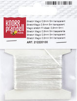 Stretch Magic Gummifaden 0,8mm / 5m transparent