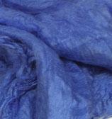 10 g Seiden-Hankies Mittelblau