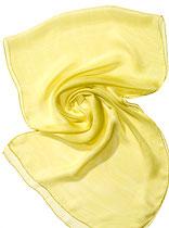 Seidenschal Tissu de Gaze - Zitrone