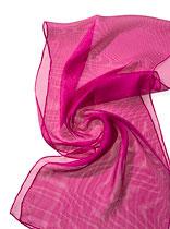Seidenschal Tissu de Gaze - Pink