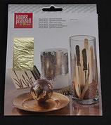 Blattmetall 14x14 Gold