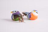 Federvogel Lila Apricot, 2er