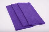 Nadelvlies 20 x 25 cm - Violett