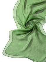 Seidenschal Tissu de Gaze - Grün