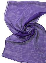 Seidenschal Tissu de Gaze - Violett