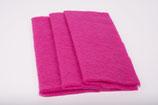 Nadelvlies 20 x 25 cm - Pink