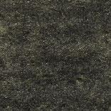 Wolle+Seide Nadelvlies per m, schwarz+sonnenblume
