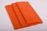 Nadelvlies 20 x 25 cm - Orange