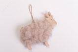 Ziege mit Wolle
