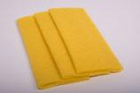 Nadelvlies 20 x 25 cm - Gelb
