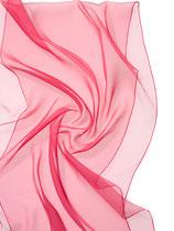 Seidenschal Chiffon 3.5 - Azalee 180x55
