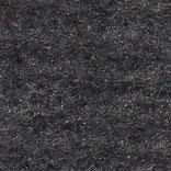Wolle+Seide Nadelvlies per m, schwarz+naturweiß