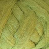 Flachsfasern Hellgrün, 100g