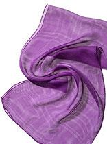 Seidenschal Tissu de Gaze - Purpurviolett