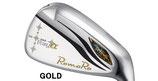 RomaRoロマロRay  α GOLDアイアン高反発#5-P/RJ-Ti-5Plemium Light(シャフトラボ社製)シャフト6本セット