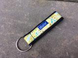 Stulle Schlüsselband - schwarz/gelb