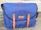 Margelisch Textor 1  Messenger Bag 14 Zoll - blau/braun