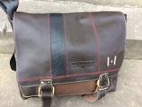 Margelisch Akar Messenger Bag 15 Zoll Leder - braun
