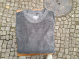 Langbrett Frotte Sweater dunkelgrau         Größe XL
