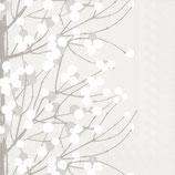 Marimekko Papier Serviette Lumimarja silver - napkin Marimekko