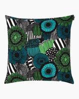Marimekko Pieni Siirtolapuutarha cushion cover 50x50 cm- Kissenbezug grün