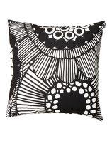Marimekko Siirtolapuutarha cushion cover 50x50 cm- Kissenbezug schwarz/weiß