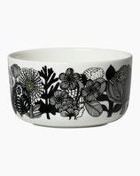 Marimekko Oiva/Siirtolapuutarha bowl 5 dl- Schale black, green, white