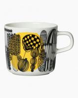 Marimekko Oiva/Siirtolapuutarha coffee cup 2 dl /gelb- Tasse