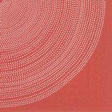 Marimekko Papier Serviette FOKUS RED- napkin Marimekko