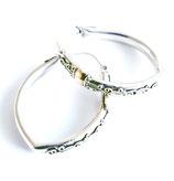 oorbellen zilver Bali KR002