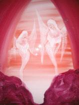 Wir halten das Licht   (Leinwanddruck)  70  x 50 cmFREUDE-ANGEBOT