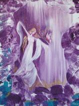 Göttin der heilenden Begeisterung  (Poster A4) handsigniert