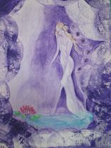Göttin des inneren Friedens (Poster A4) handsigniert