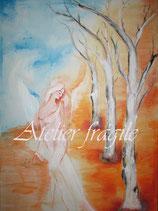 Engel der natürlichen Verbundenheit   (Leinwanddruck) 70 x 50 FREUDE- Angebot