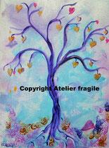 Baum der Herzensfreude (Leinwanddruck)