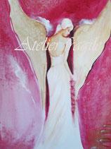 Die Göttin mit den goldenen Flügeln auf dem Weg zur Harmonie.