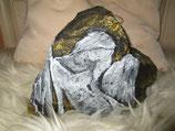 ENGEL für Dich   (auf Basaltstein gemalt) 20 cm