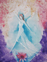 Göttin der träumenden Leichtigkeit  (Poster A4) handsigniert