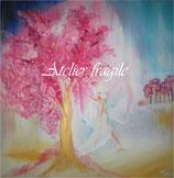 Baum Engel der natürlichen Schönheit (Leinwanddruck)