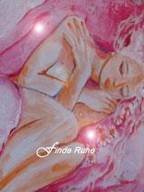 Finde Ruhe   (Poster A4) handsigniert