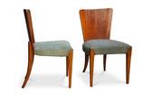 Coppia di sedie art deco incluso restauro